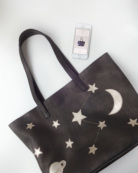 Starry Night Clutch from FerWay Designs