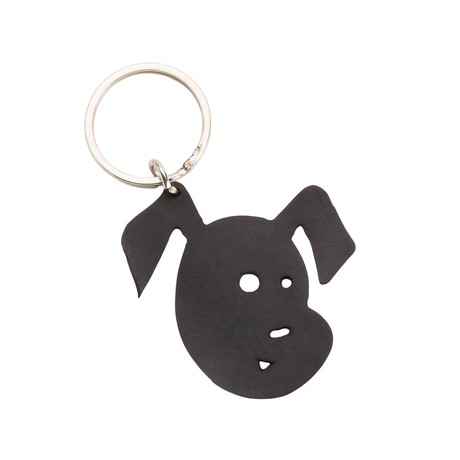 Bubba Recycled Rubber Dog Vegan Keyring from Paguro Upcycle