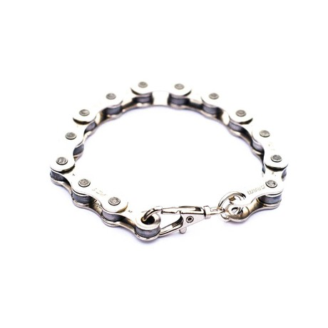 Recycled Bike Chain Bracelet from Paguro Upcycle
