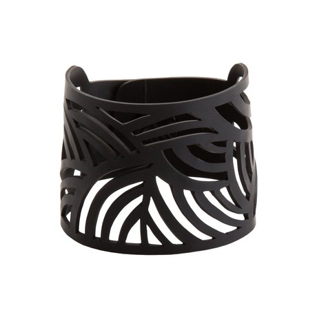 Seraphine (I) Recycled Rubber Bracelet from Paguro Upcycle