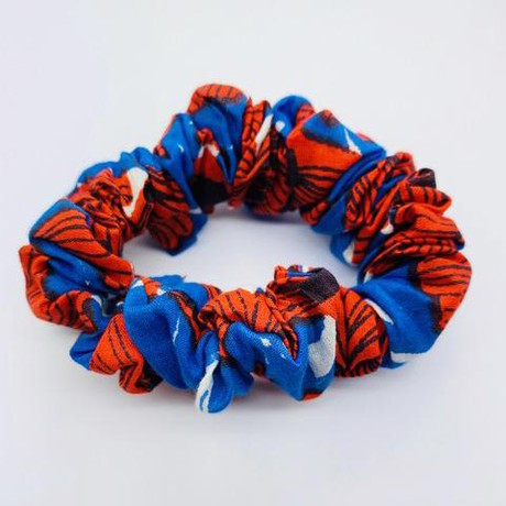 Emma's scrunchie poppy from The Extra Smile