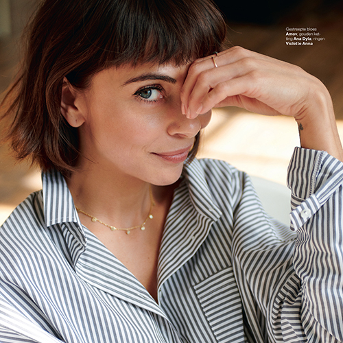 Marie Claire coins necklace from Ana Dyla