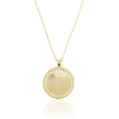 Blush coins necklace   SAMPLE SALE from Ana Dyla