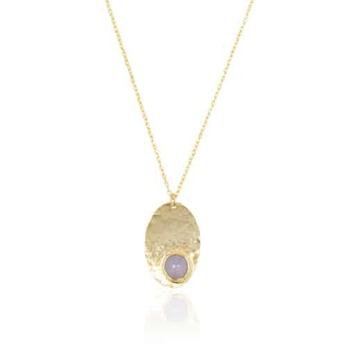 By Noon | Blue chalcedony necklace from Ana Dyla