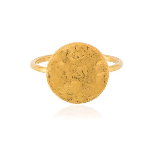 Coins love ring from Ana Dyla