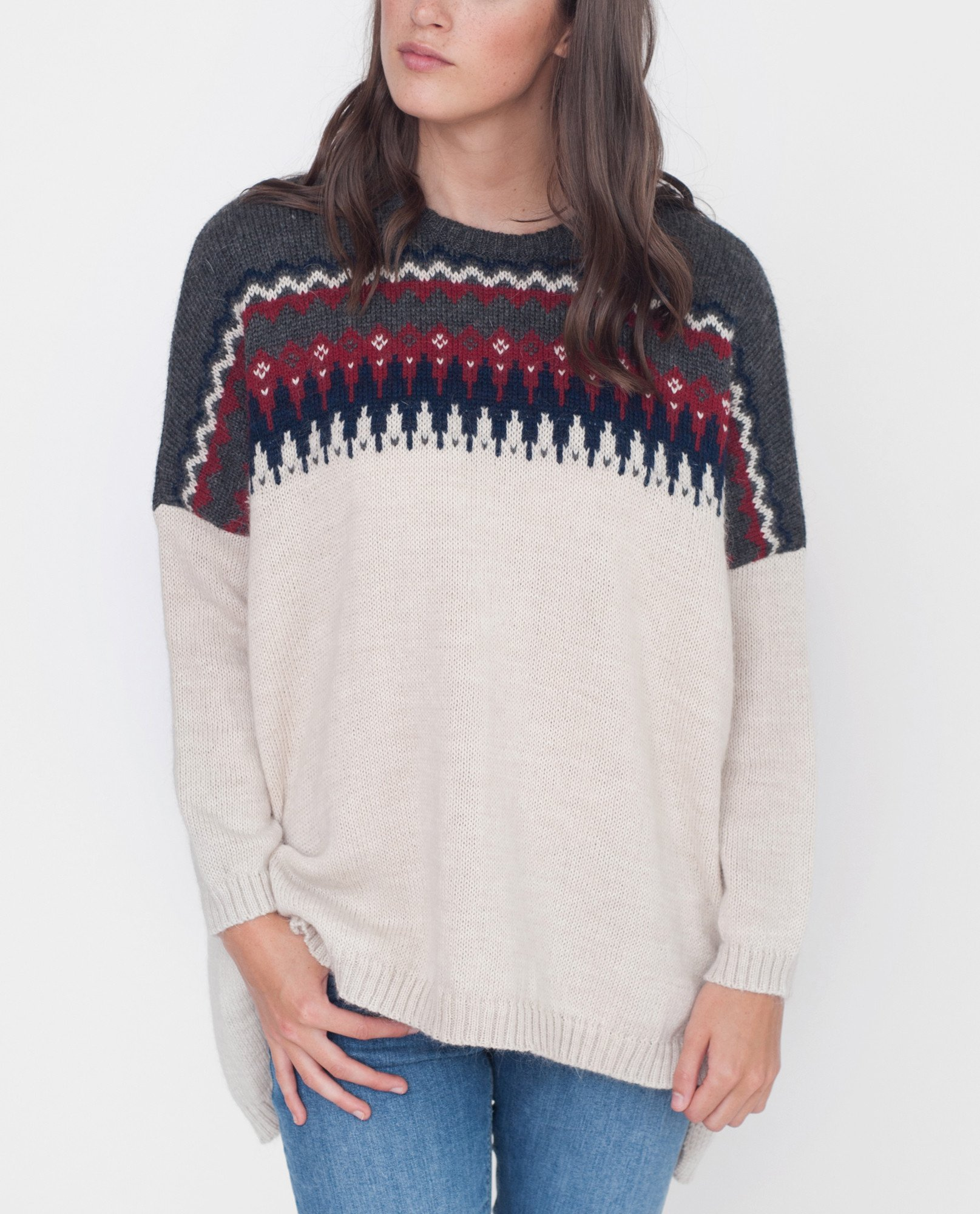 GIGI Mohair Knitted Jumper from Beaumont Organic
