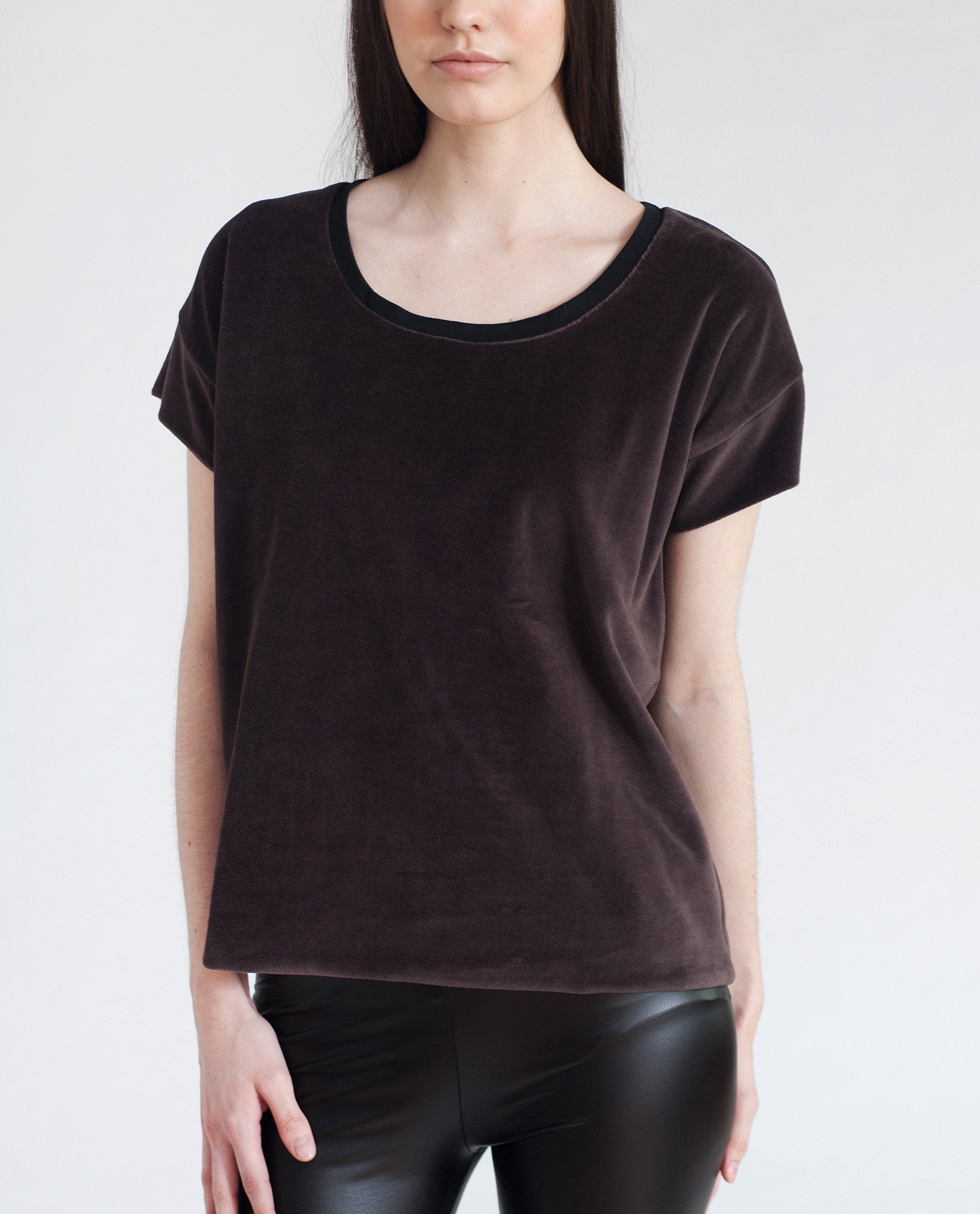 JAQUELINE Cotton Velvet Top from Beaumont Organic