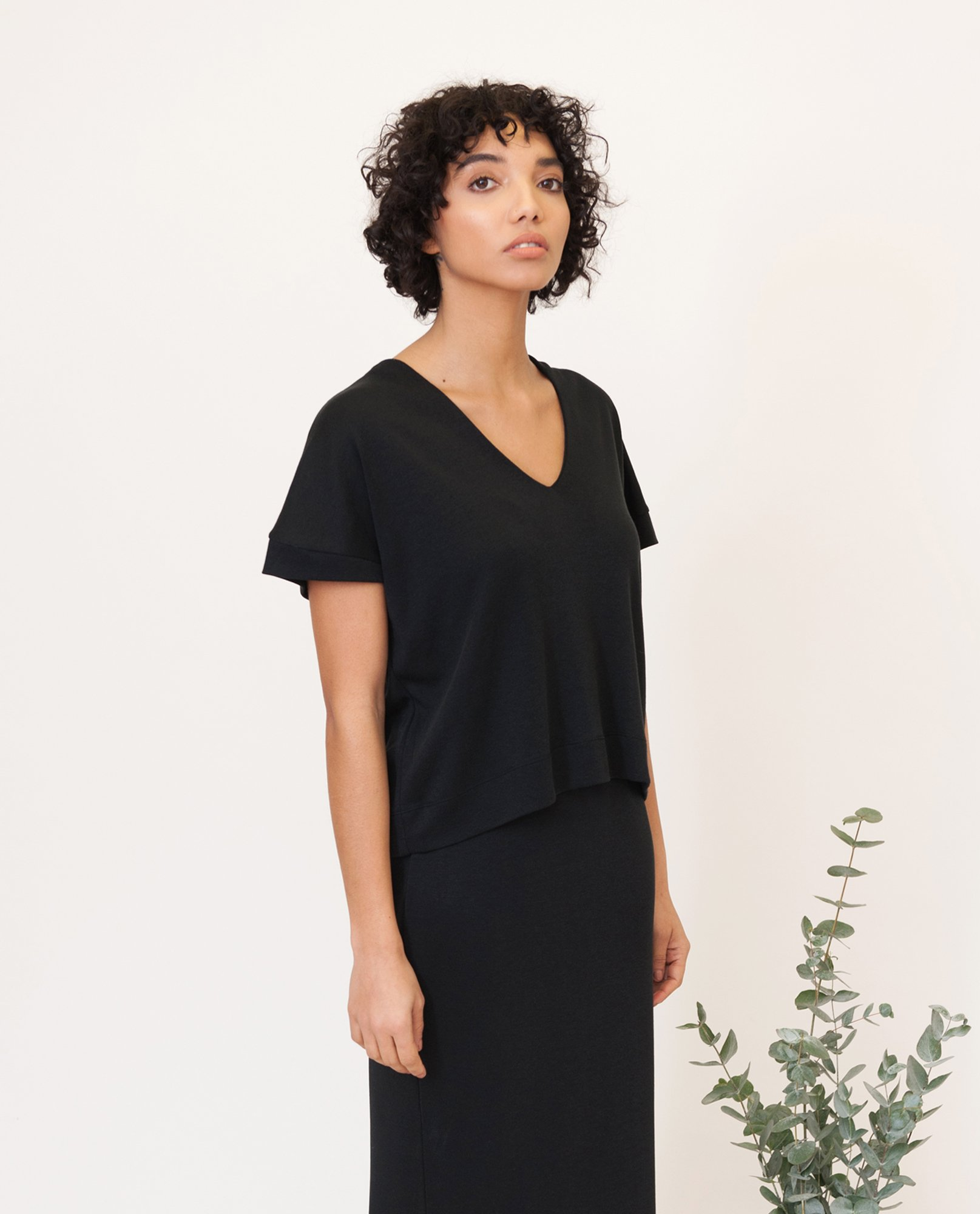 JOYCE Lyocell Jersey Top from Beaumont Organic