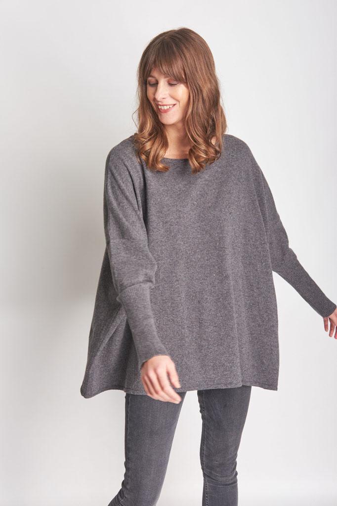 Eva Oversized Wool Jumper from BIBICO