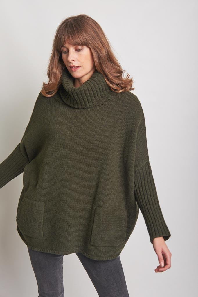 Adela Oversized Sweater from BIBICO