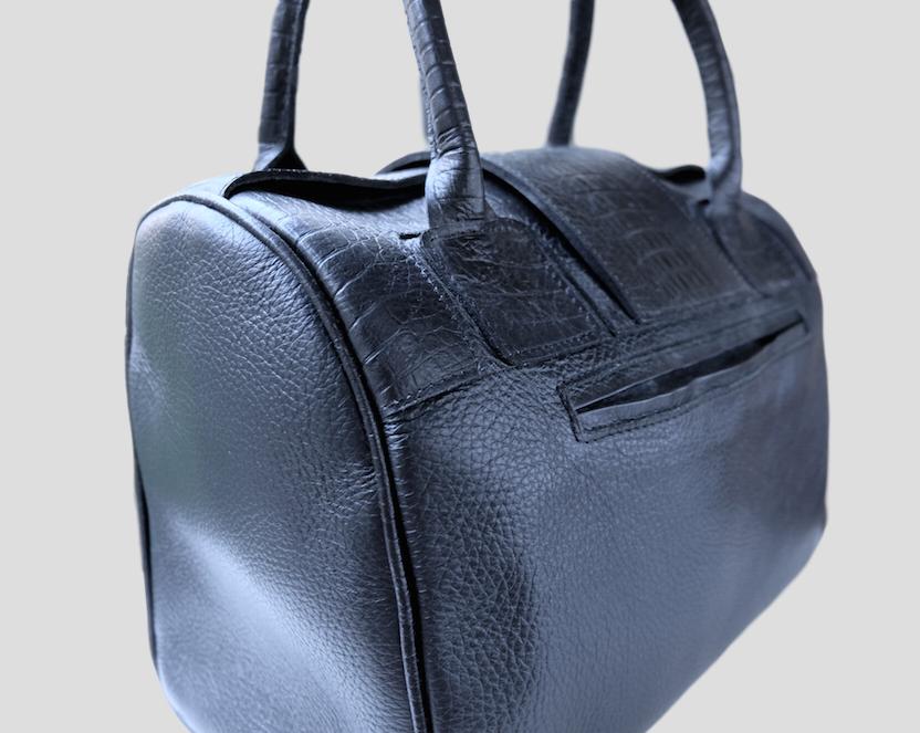 Mateo Black Handbag from FerWay Designs