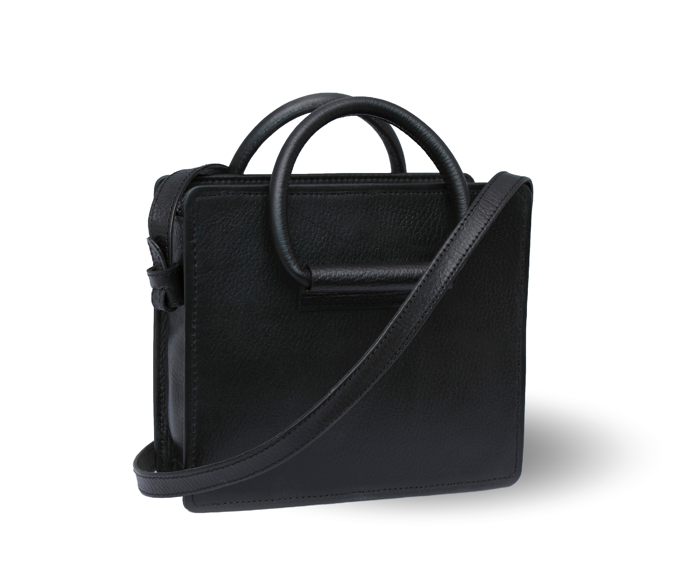 Celestino Black Handbag from FerWay Designs