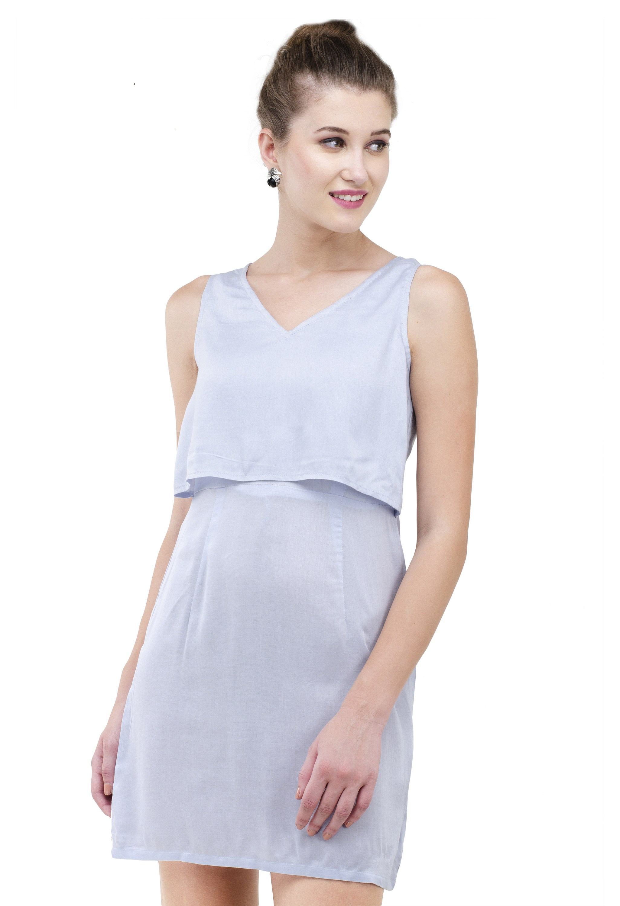 Short light blue dress from Grab Your Garb
