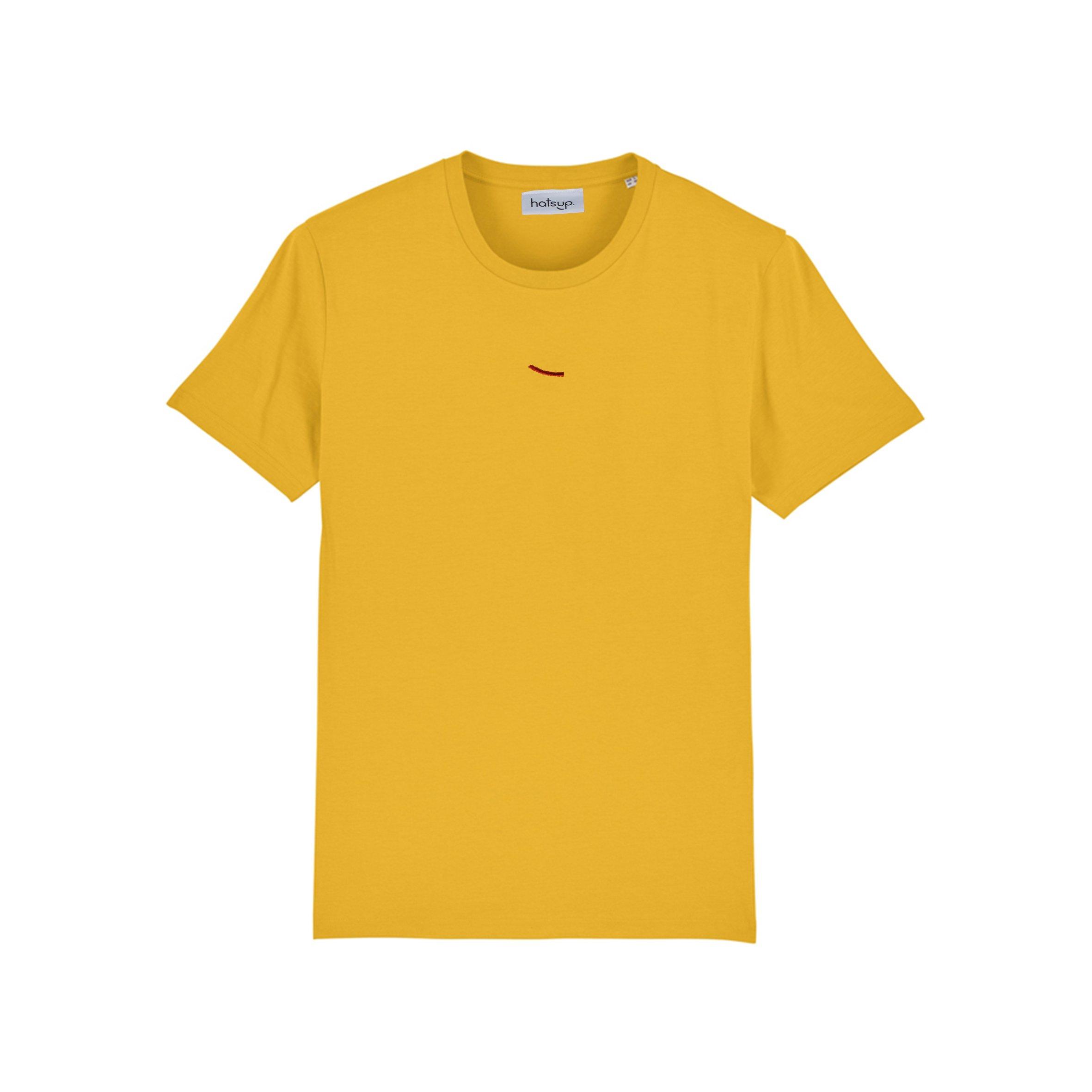 T-shirt Bangui yellow from hatsup