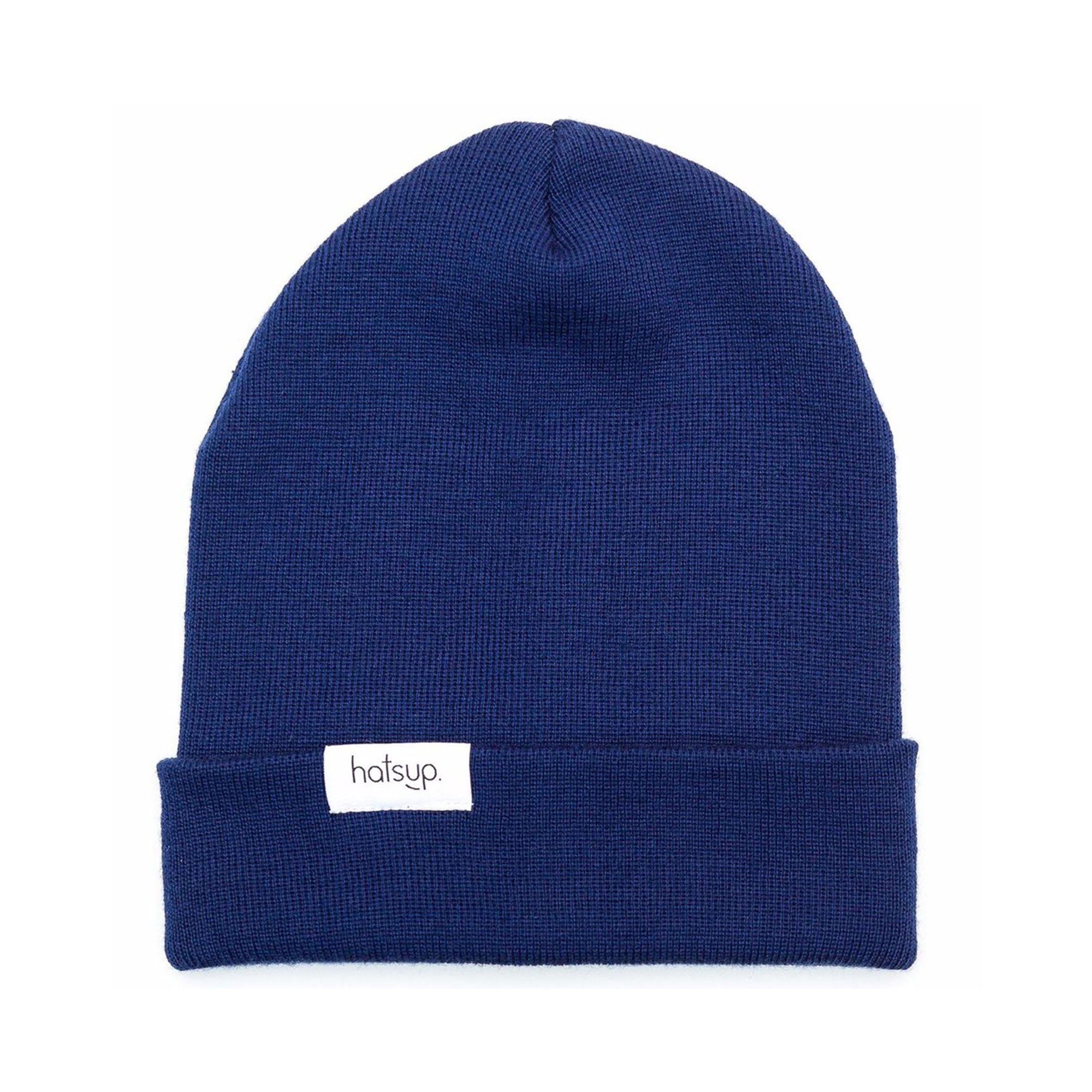 Beanie Marine Blue from hatsup