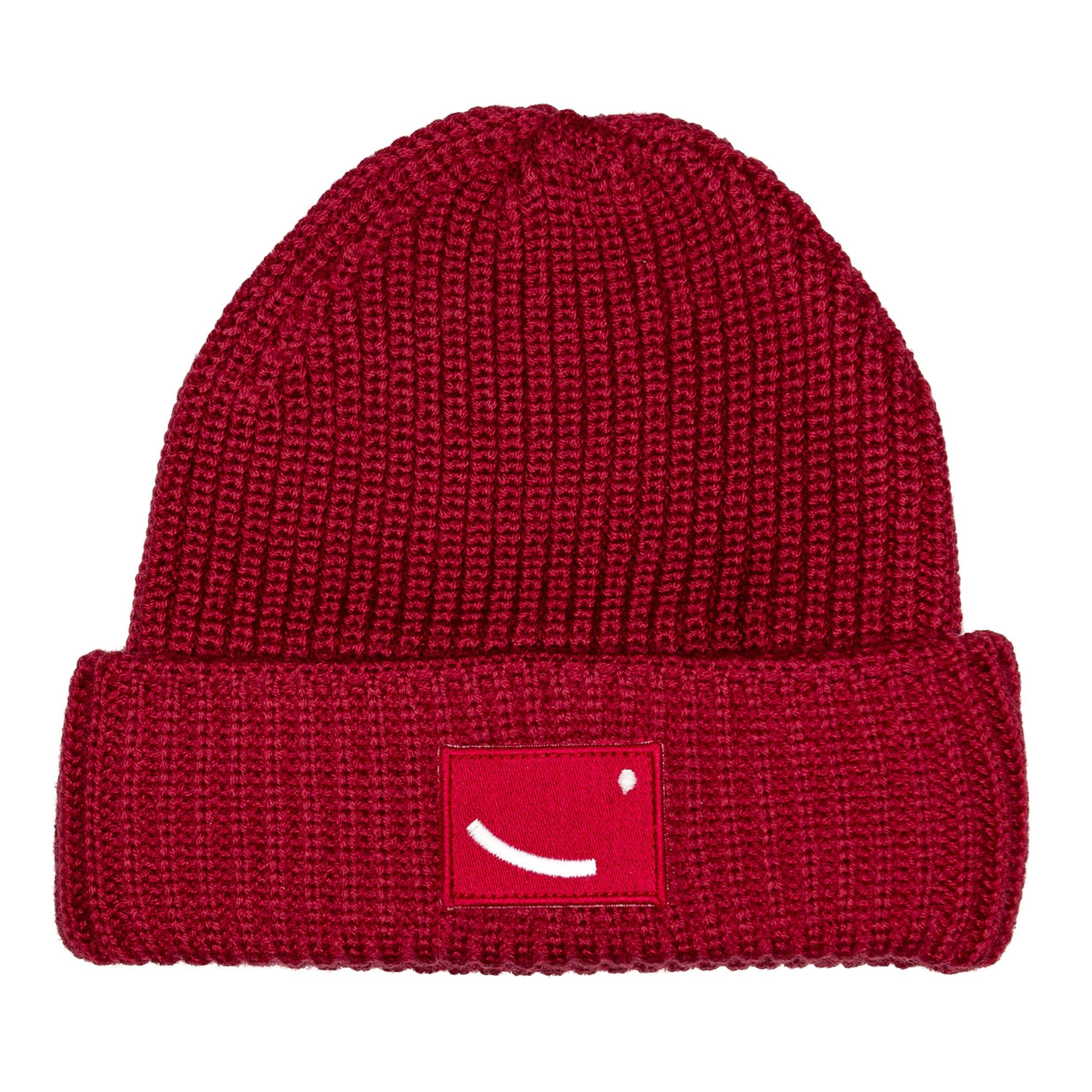 Beanie Luanda red from hatsup