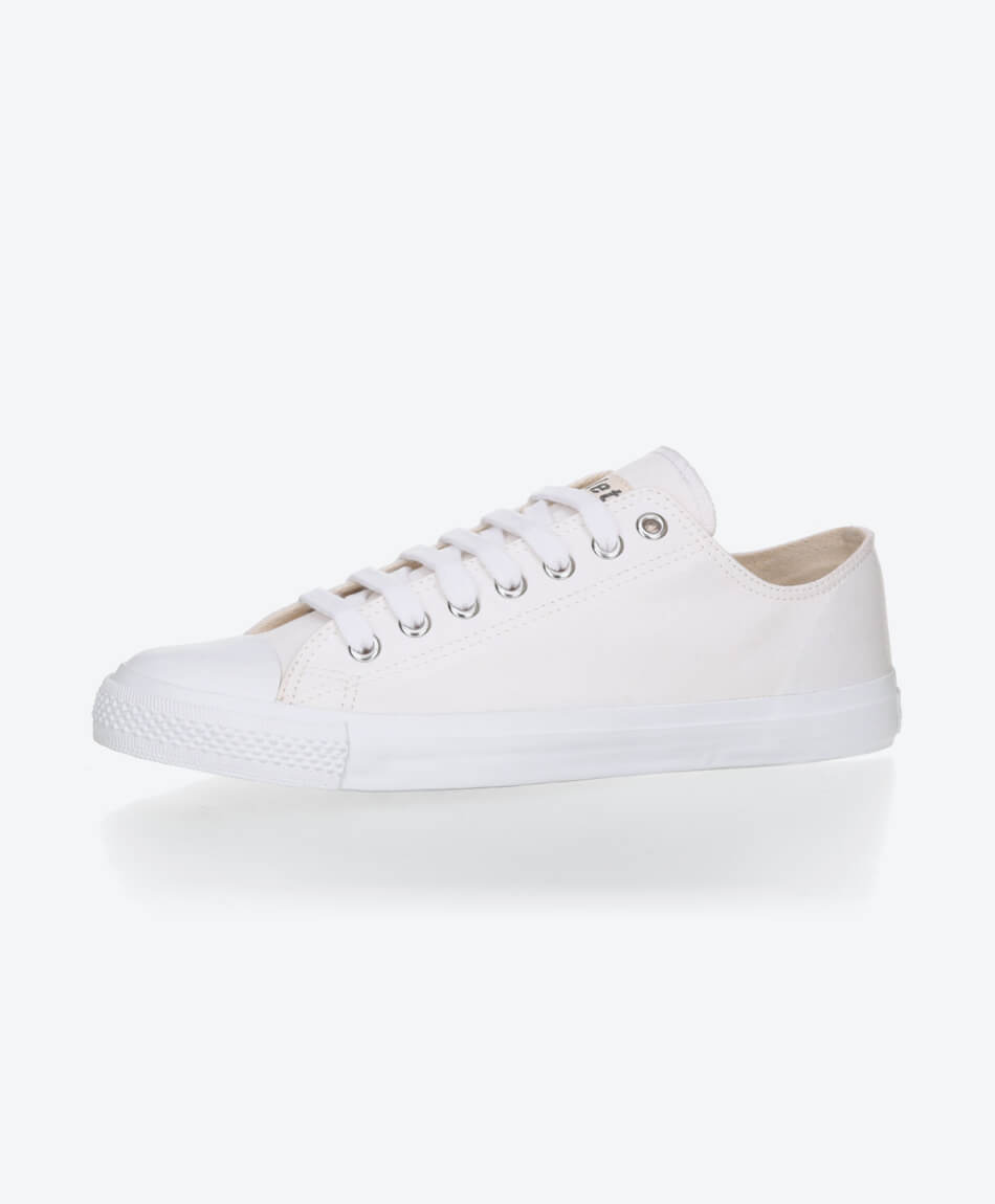 Fair Trainer White Cap Lo Cut Collection 18 Just White from Honestfashion Store