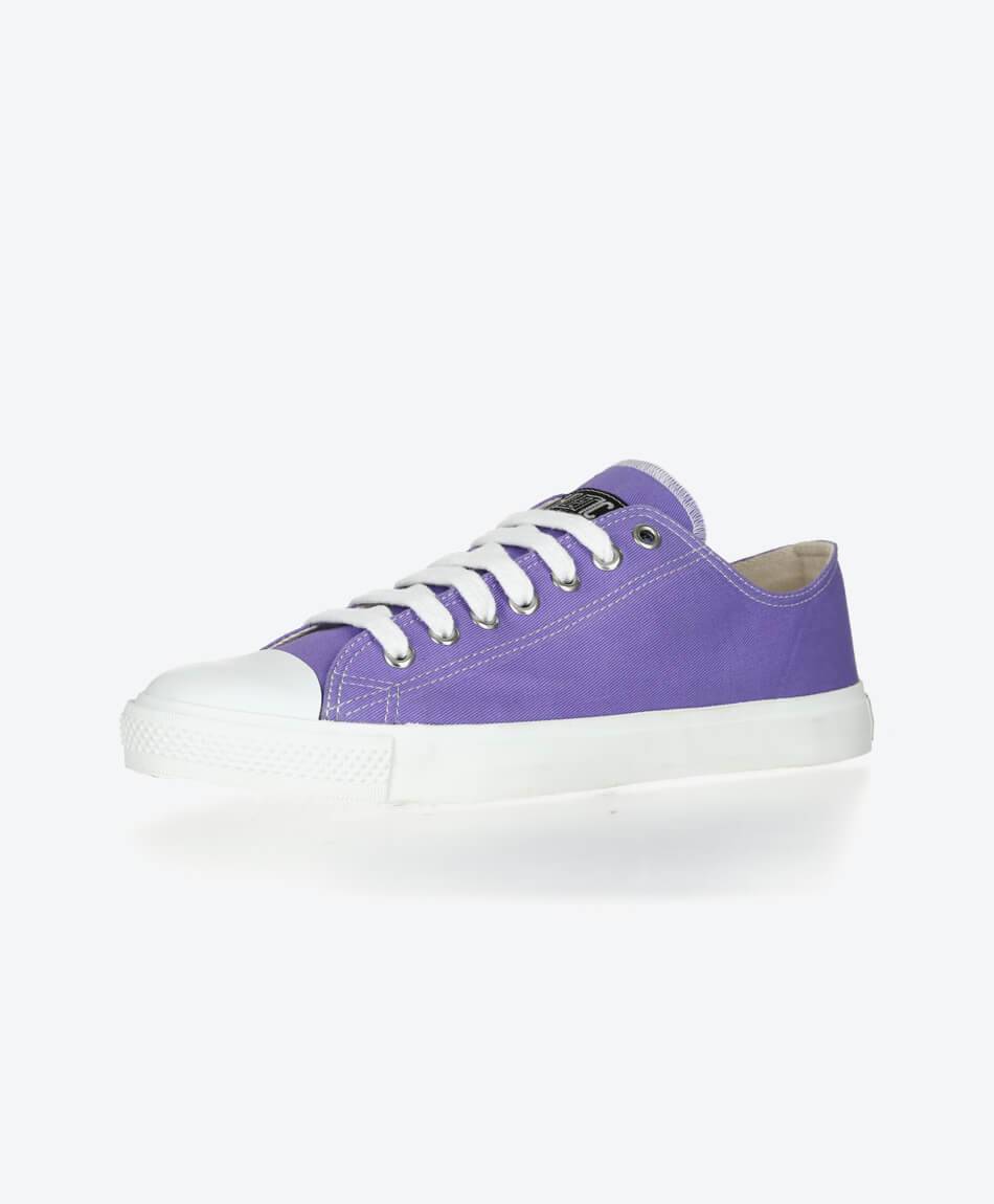 Fair Trainer Lo Cut Collection 17 Purple Rain | Just White from Honestfashion Store