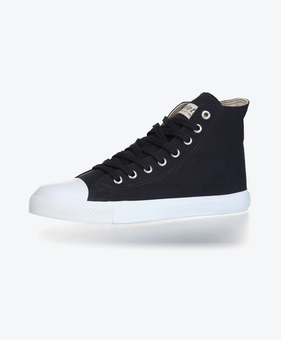 Fair Trainer Hi Cut Collection 18 Black Navy from Honestfashion Store