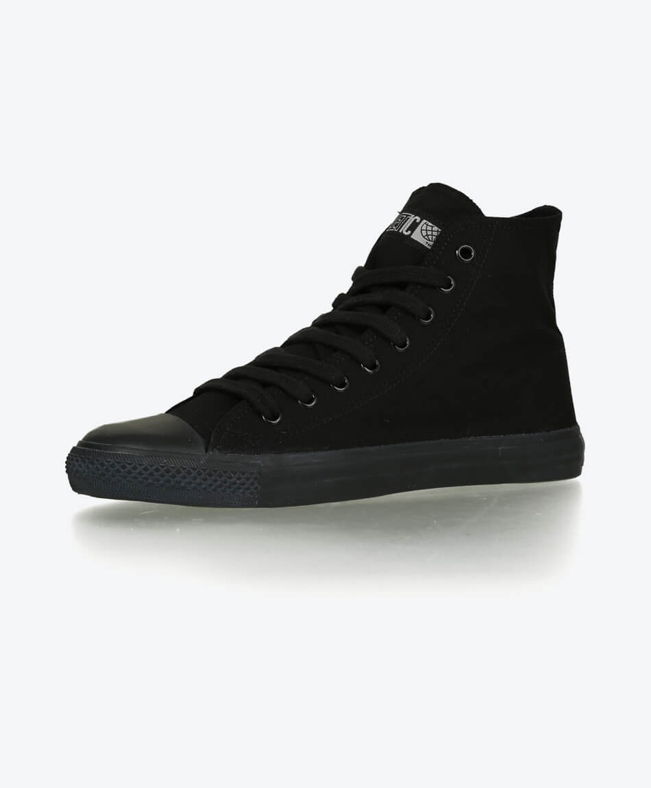 Fair Trainer Black Cap Hi Cut Classic Jet Black from Honestfashion Store