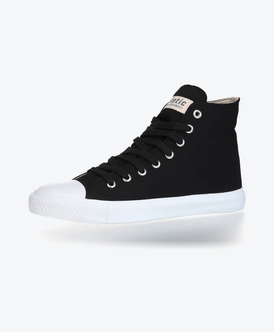 Fair Trainer Hi Cut Collection 18 Jet Black from Honestfashion Store