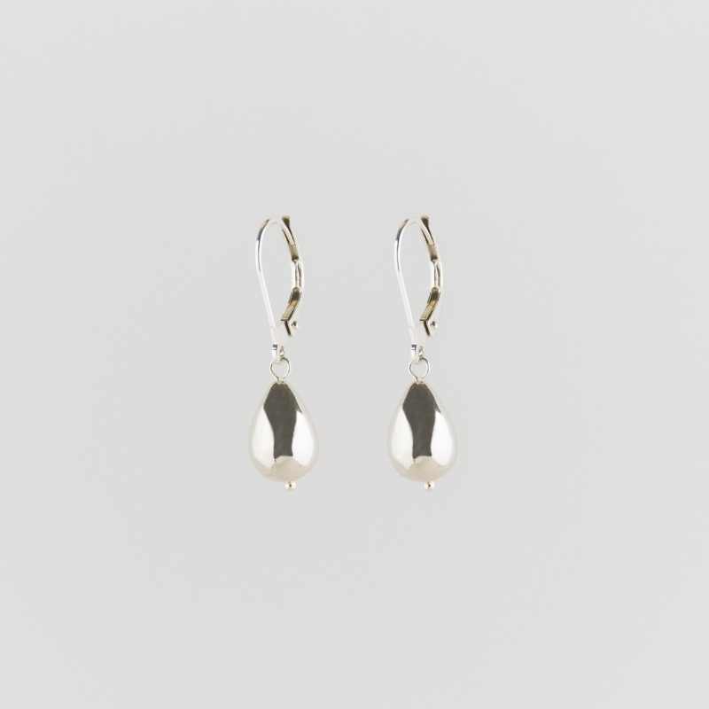 Raindrop earrings silver from Julia Otilia