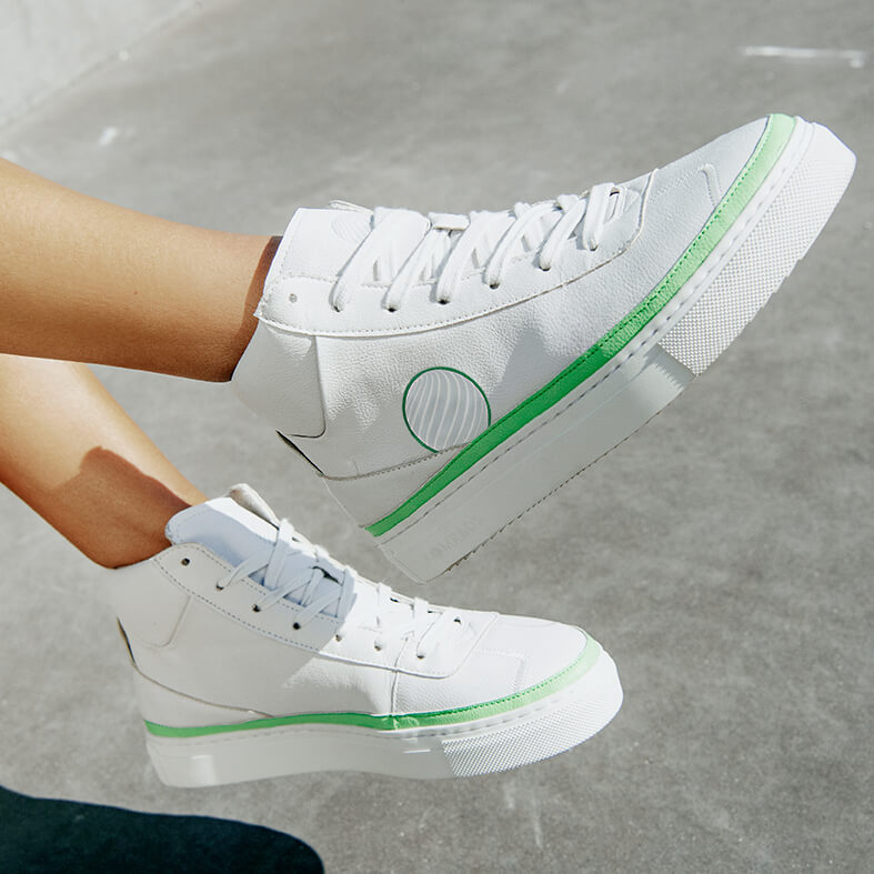 Komrads APL Apple Green High Top from Komrads