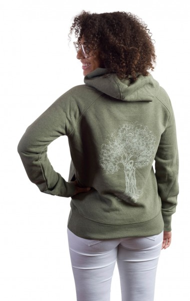 Fairwear Organic Sweater Vereinigung Women Khaki from Life-Tree