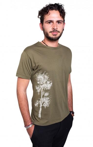Fairwear Bambus Shirt Men Moss Green Kiefer from Life-Tree