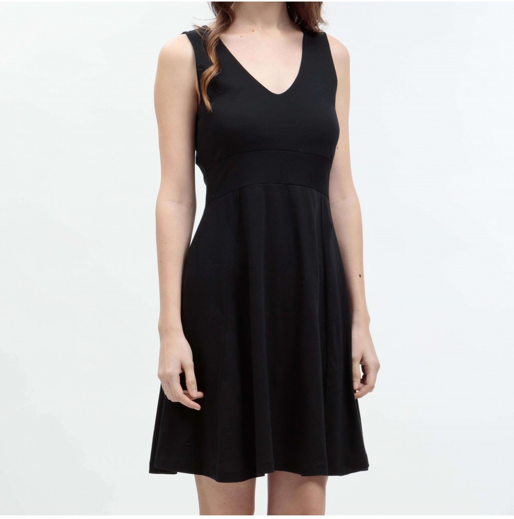 Ethical Black Dress Vimmersby from Mae Sue