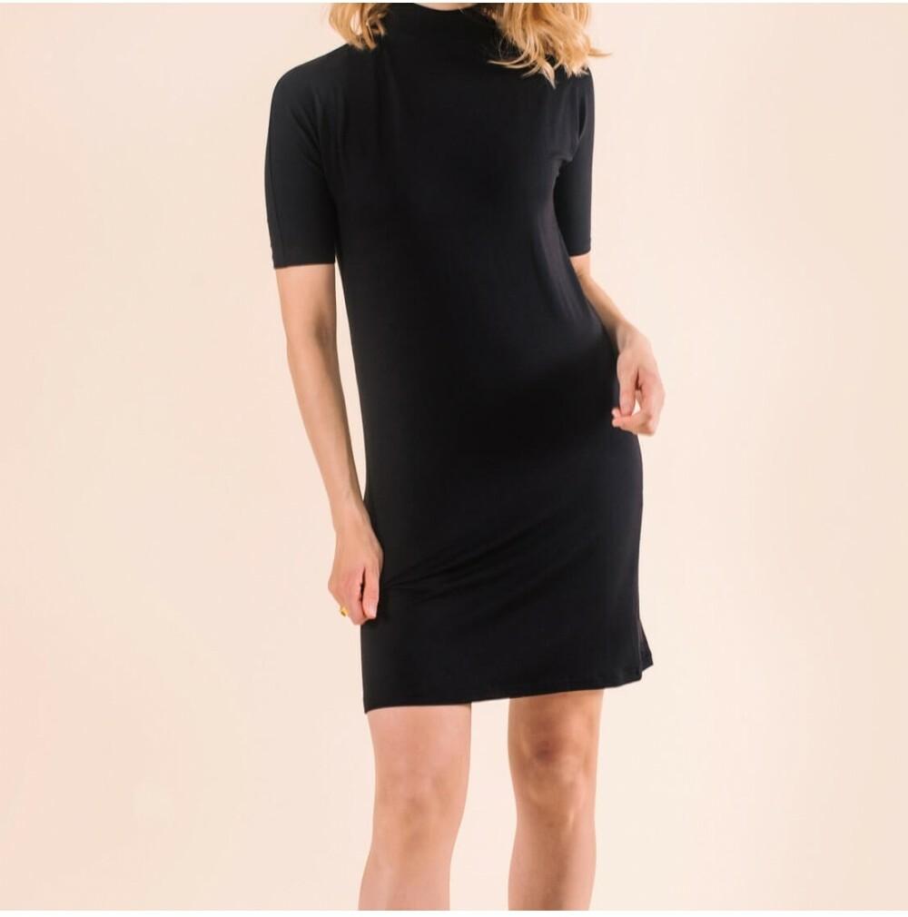 Fair Trade Black Dress Almora from Mae Sue