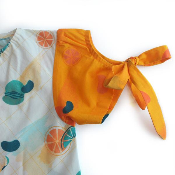 Citrus Tent Dress from Miko LOLO