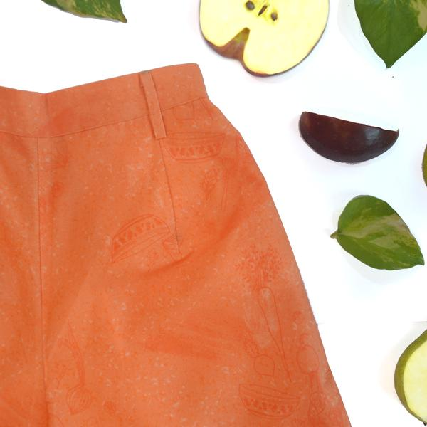 Coral Salad Culottes from Miko LOLO