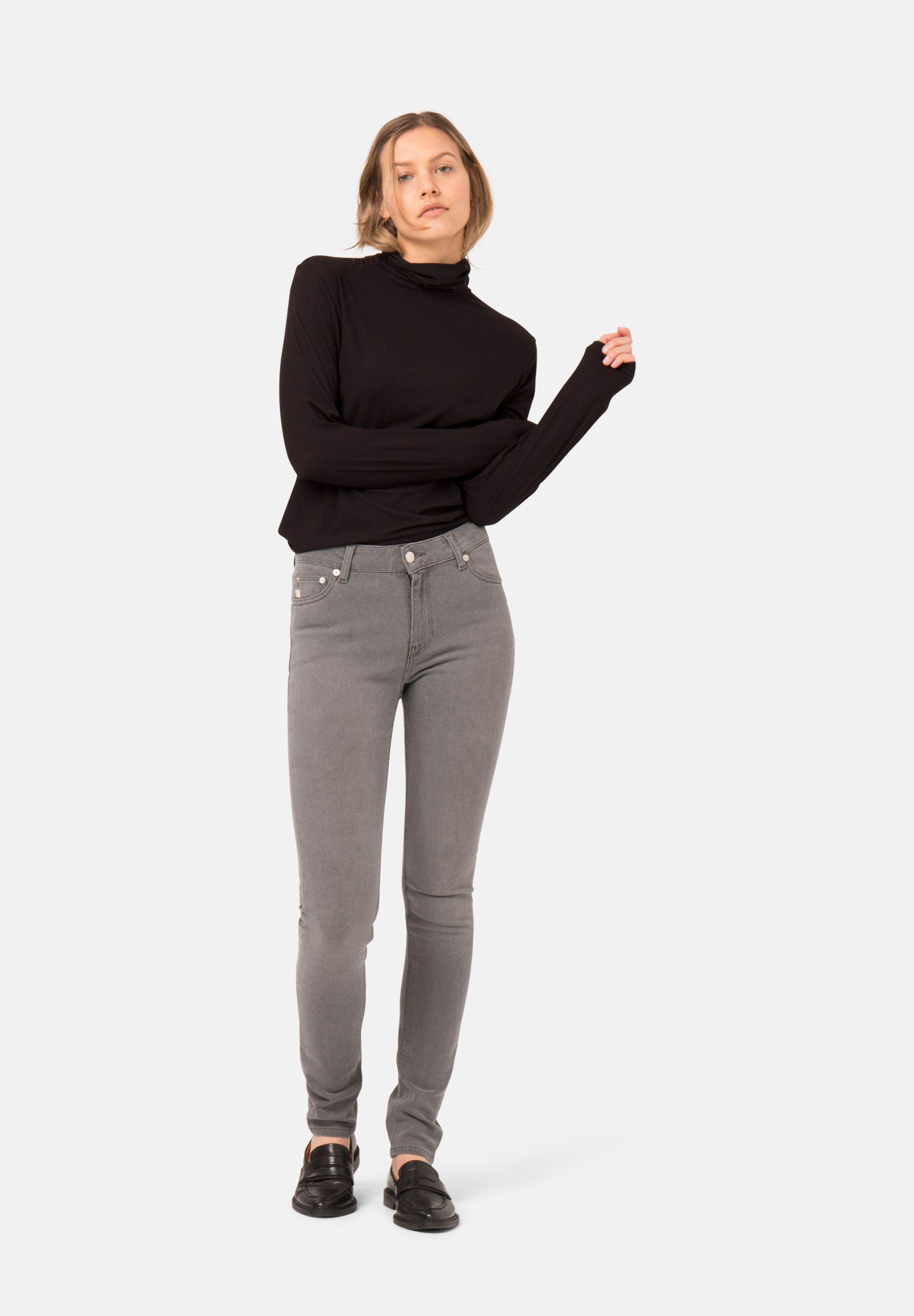 Skinny Hazen / O3 Grey from Mud Jeans