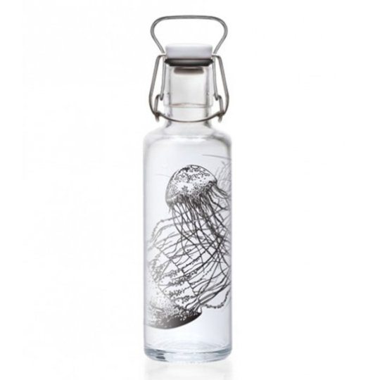 SOULBOTTELS TRINKFLASCHE Jellyfish in the Bottle from Nice to meet me