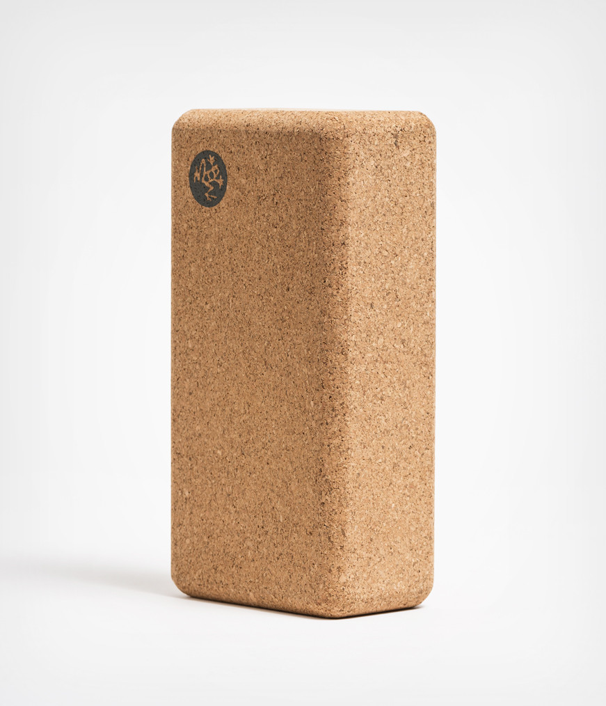 Manduka Kork Yoga Block klein from Nice to meet me