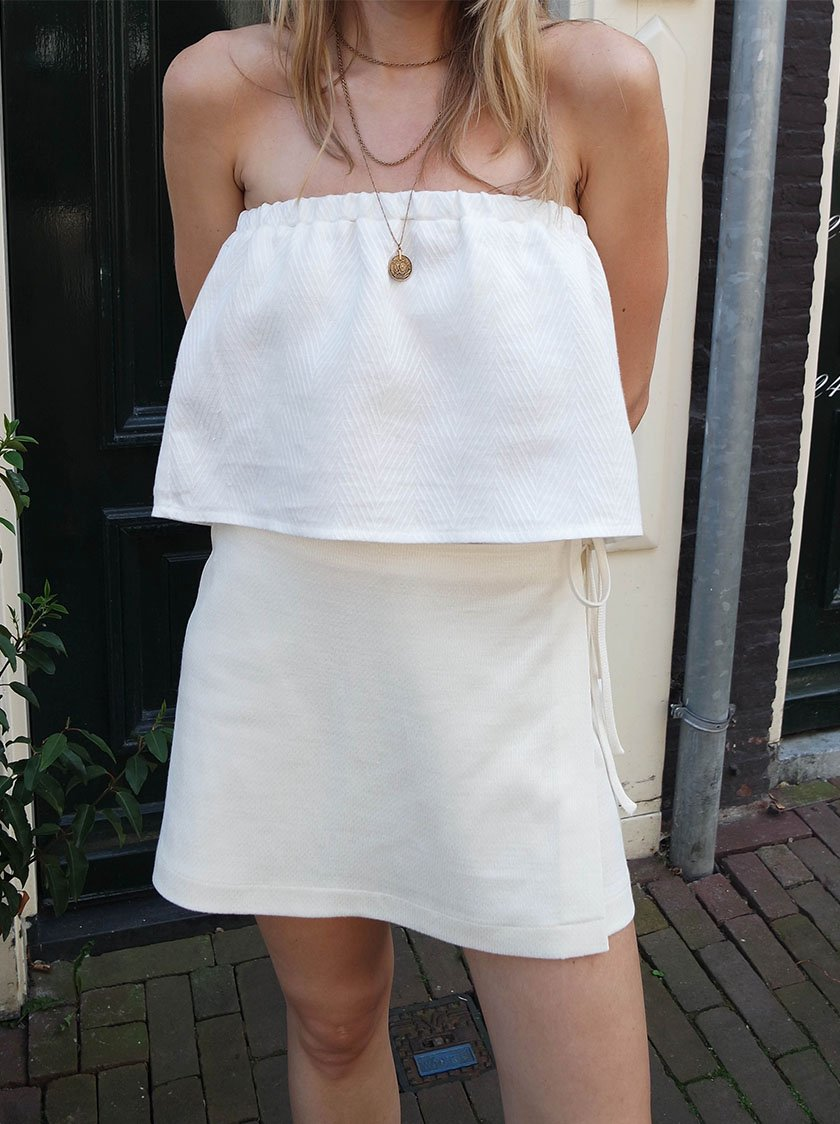 White Robin Shorts from Noumenon