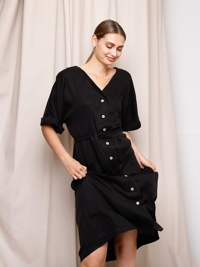 Louise Dress - Black from Noumenon