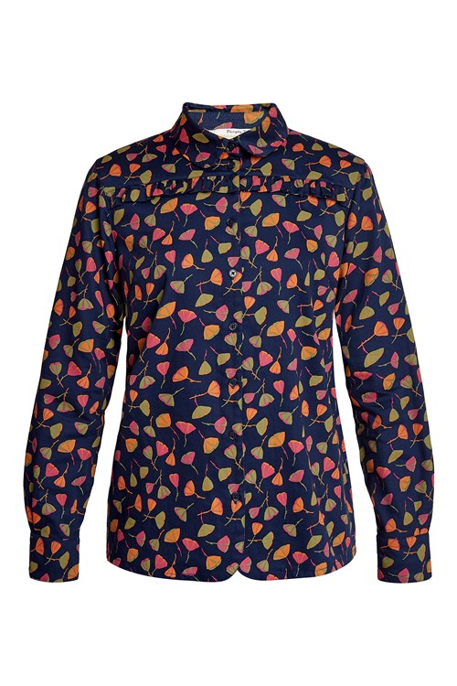 V & A Poppy Print Shirt from People Tree
