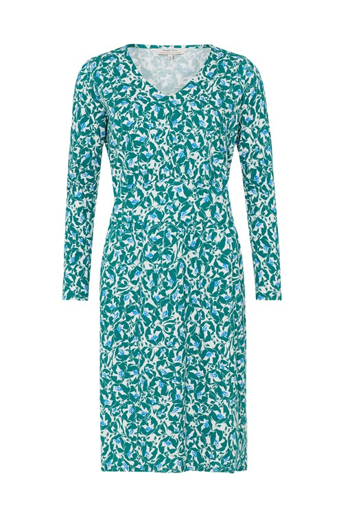 Keeley Green Floral Dress from People Tree