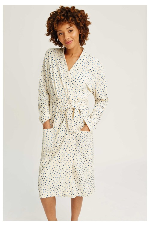 Stars Robe in Cream from People Tree