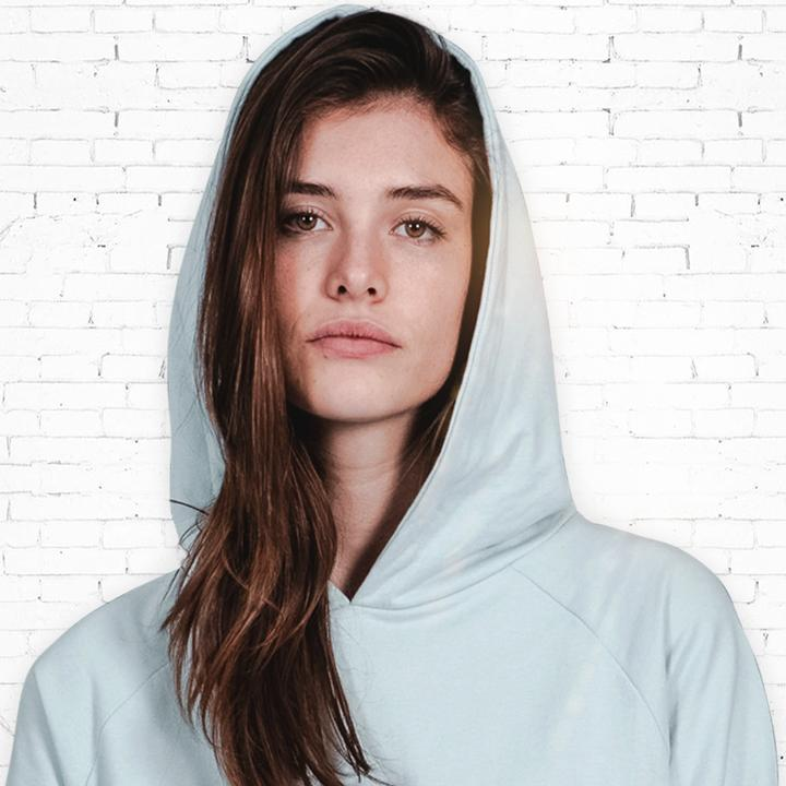 Hoody - Organic Cotton - Light Blue from The Driftwood Tales