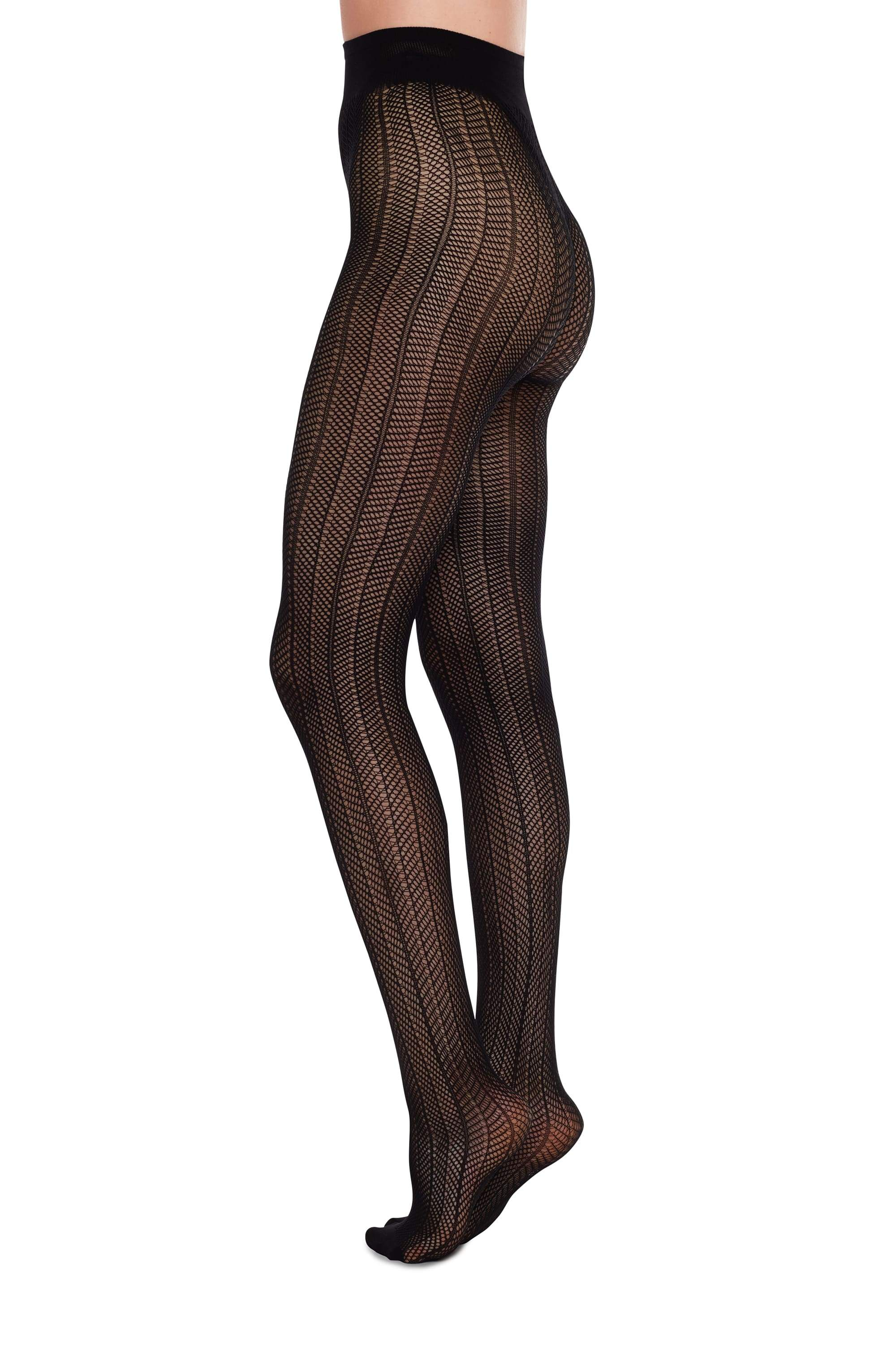 Astrid net stockings tights black from thegreenlabels