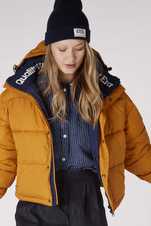 Zhenga jacket rich caramel from thegreenlabels.com