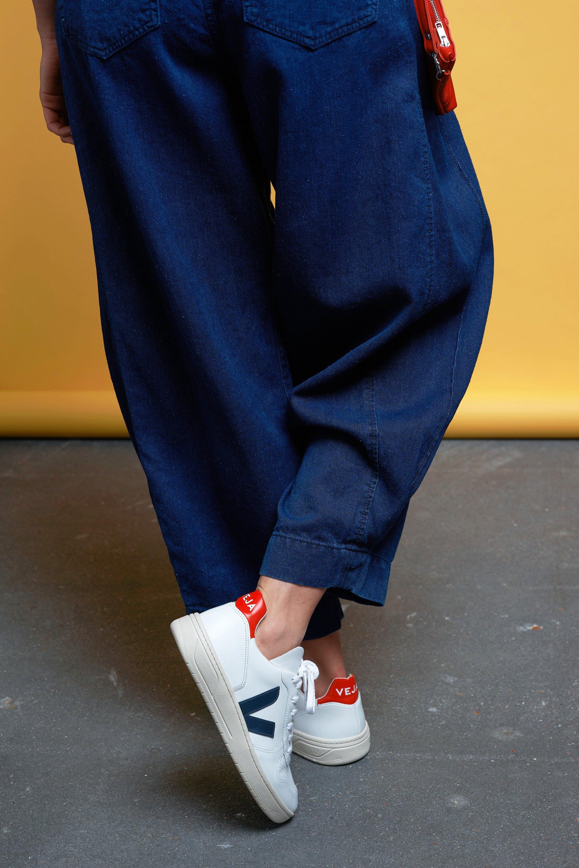 V-10 sneaker extra white nautico pekin from thegreenlabels.com