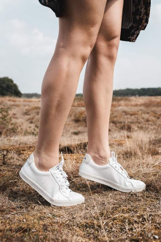 Esplar leather sneaker extra white from thegreenlabels.com