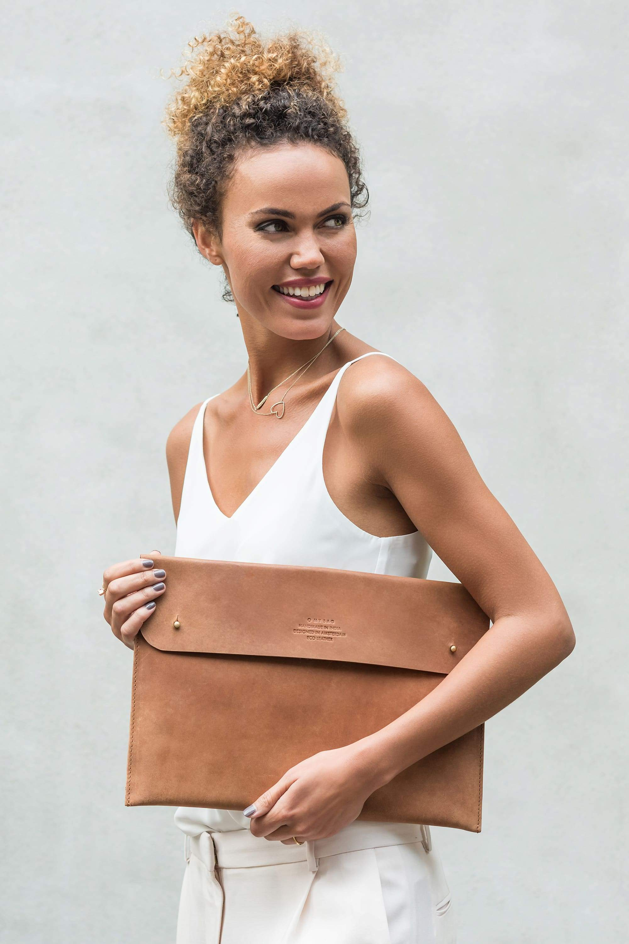 """13"""" laptop sleeve - eco camel from thegreenlabels.com"""